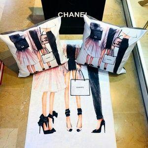 Chanel custom home decor